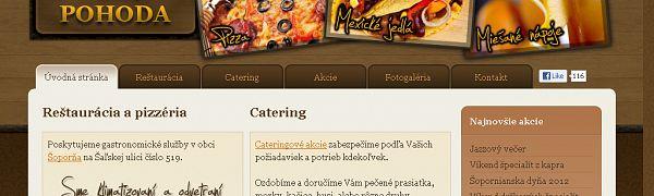 Pizzéria Pohoda